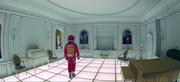 2001: A Space Odyssey ending scene